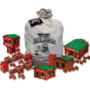 RoyToy 550 Piece Deluxe Building Set Made in The USA