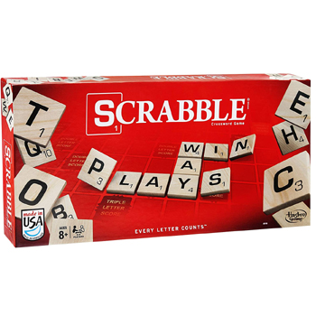 Scrabble Game American Made
