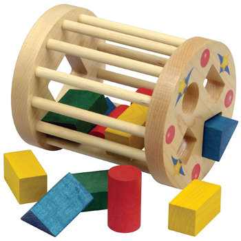 Shape Sorter Round Cage American Made
