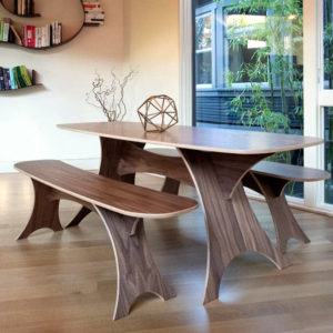 Wood Dining Table American Made